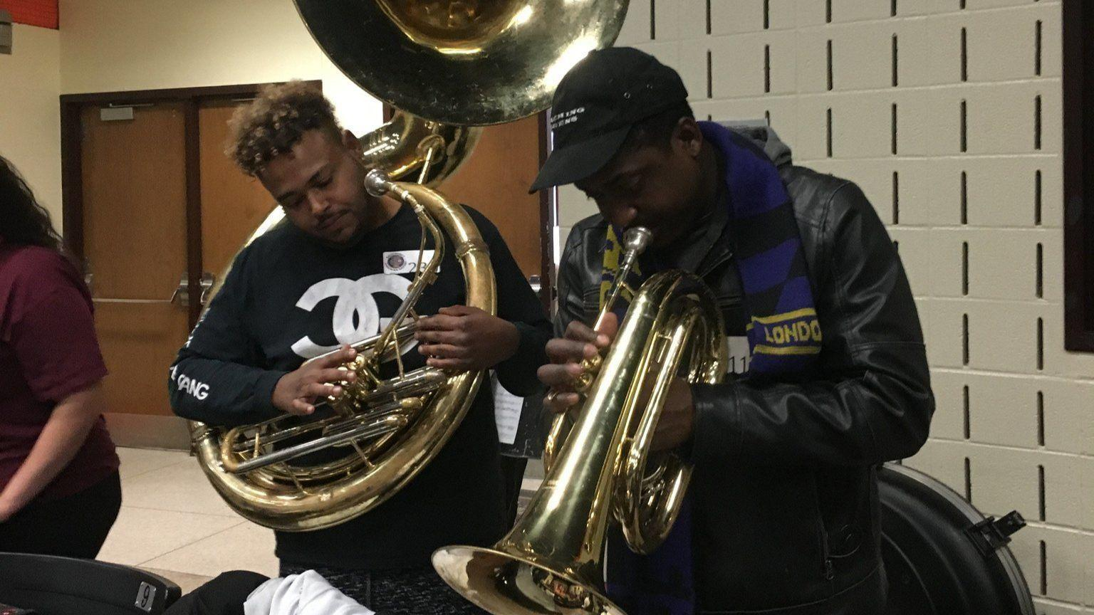 nearly 200 musicians audition to play for the baltimore