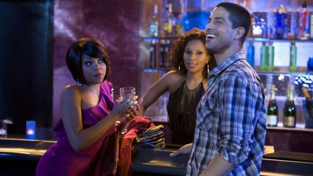 """I can do bad ... """"title ="""" I can do bad ... """"/>    <figcaption> Taraji P. Henson (as April, left), Mary J Blige (as Tanya) and Adam Rodriquez (as Sandino) in the movie """"I Can Do It All Alone."""" <span class="""