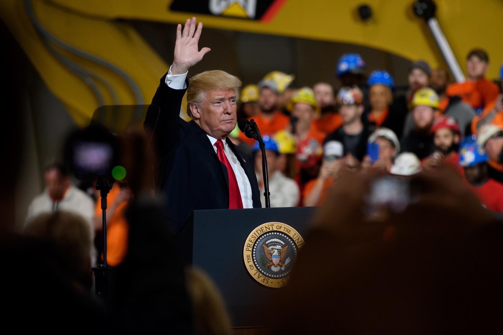 Trump Talks Infrastructure North Korea Not Stormy Daniels At