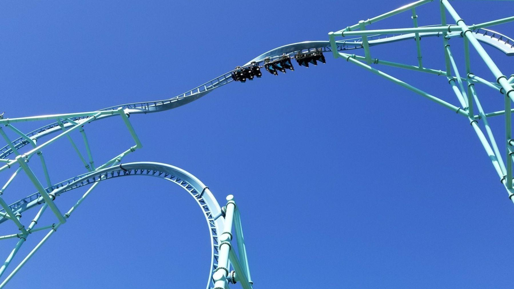 San Diego Electric >> SeaWorld's Electric Eel coaster opens in May - The San ...