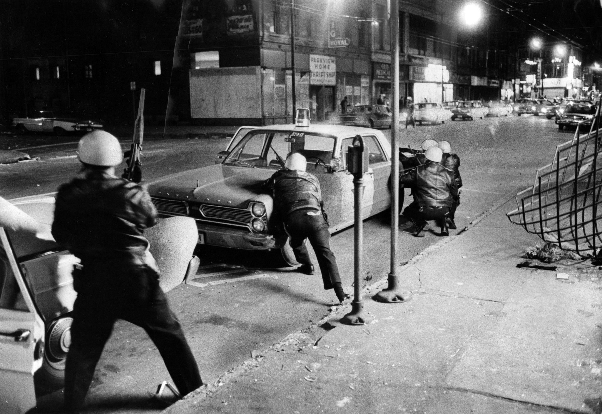 Chicago riots after the death of Martin Luther King Jr ...