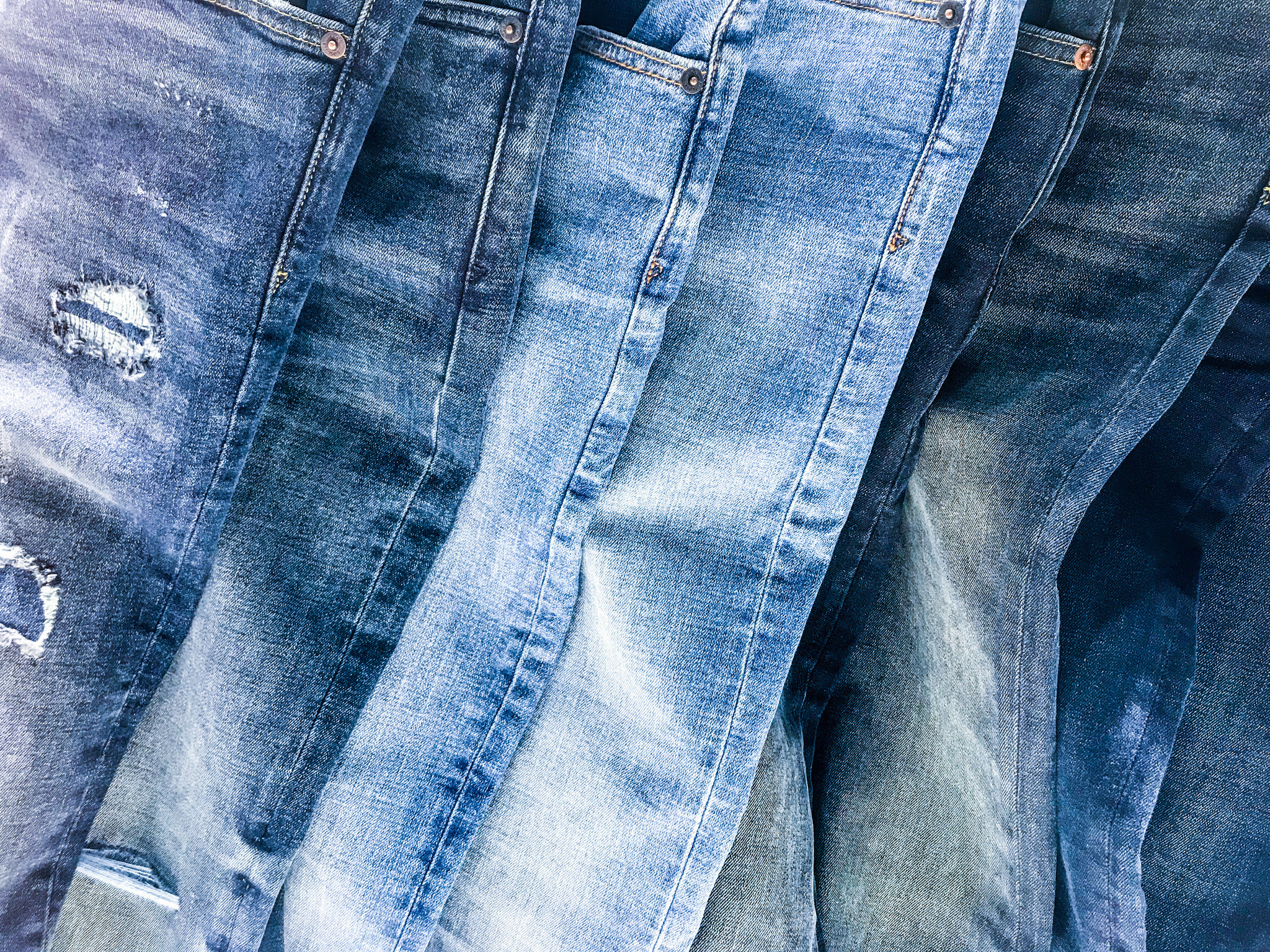 How blue jeans are mounting a comeback in a yoga pants ...