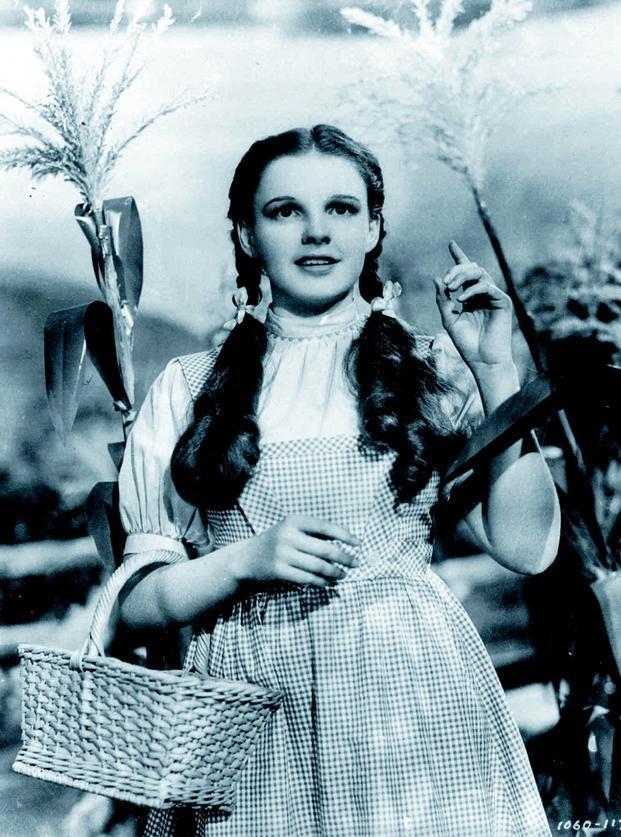 Judy Garland as Dorothy in