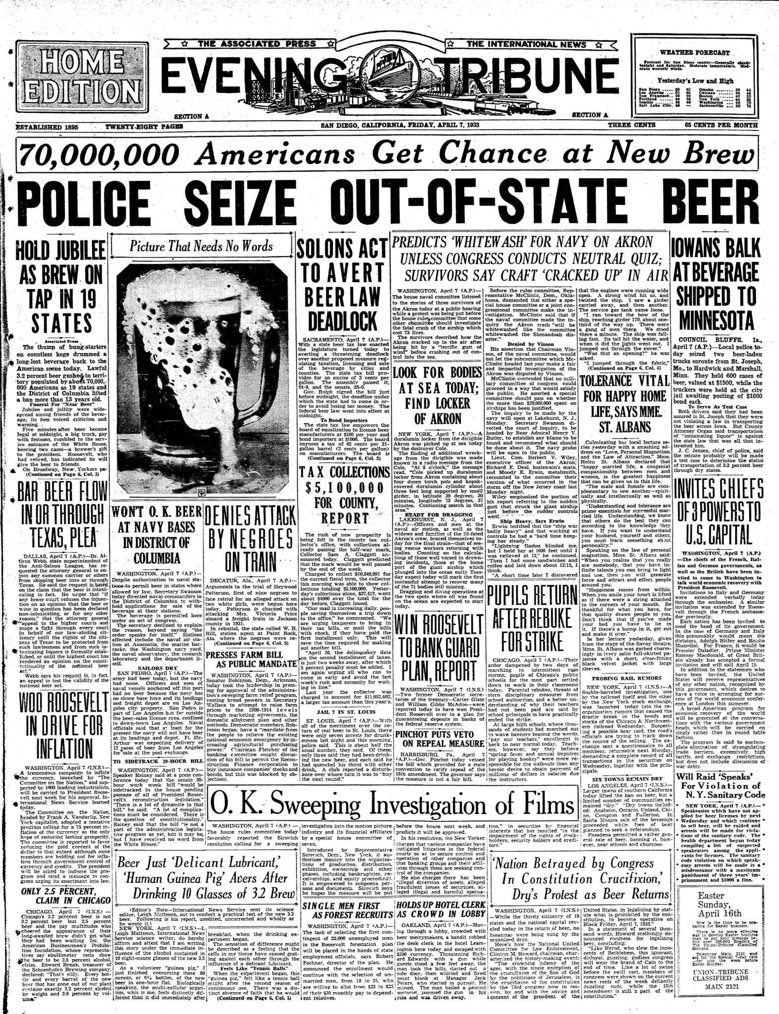 April 7, 1933