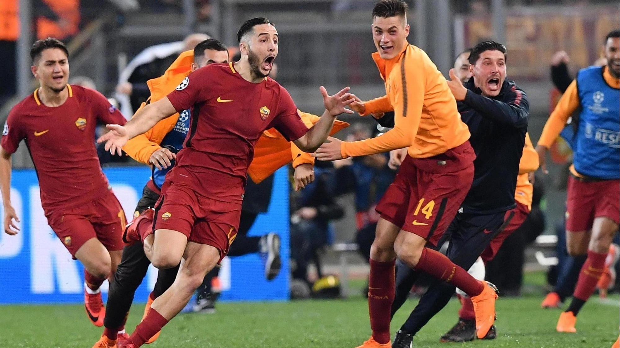 Chelsea Vs Manchester United Vs Fc Barcelona: Roma Knock Barcelona Out Of Champions League With