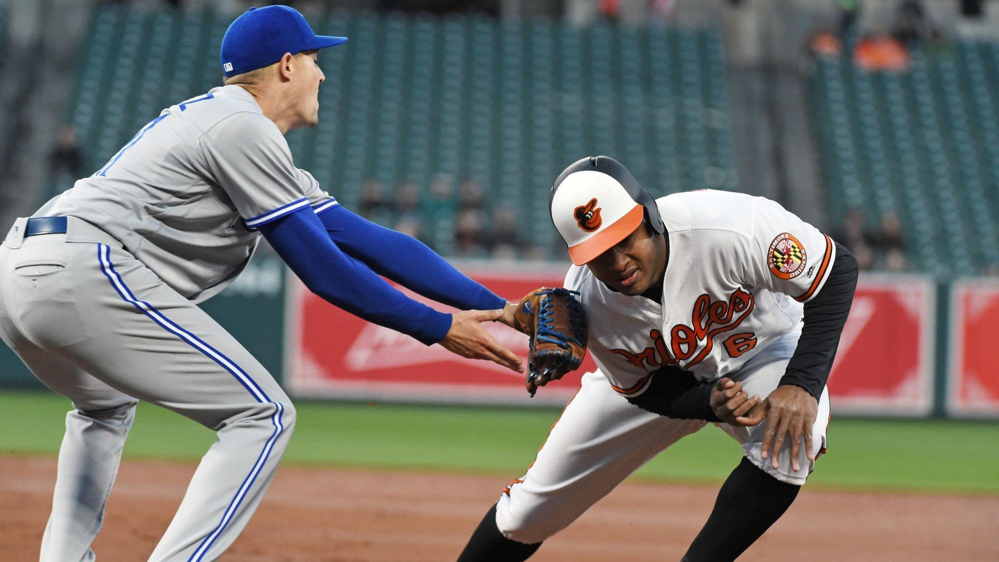 73f258710a9 Orioles break up no-hit bid with late rally but fall to Blue Jays