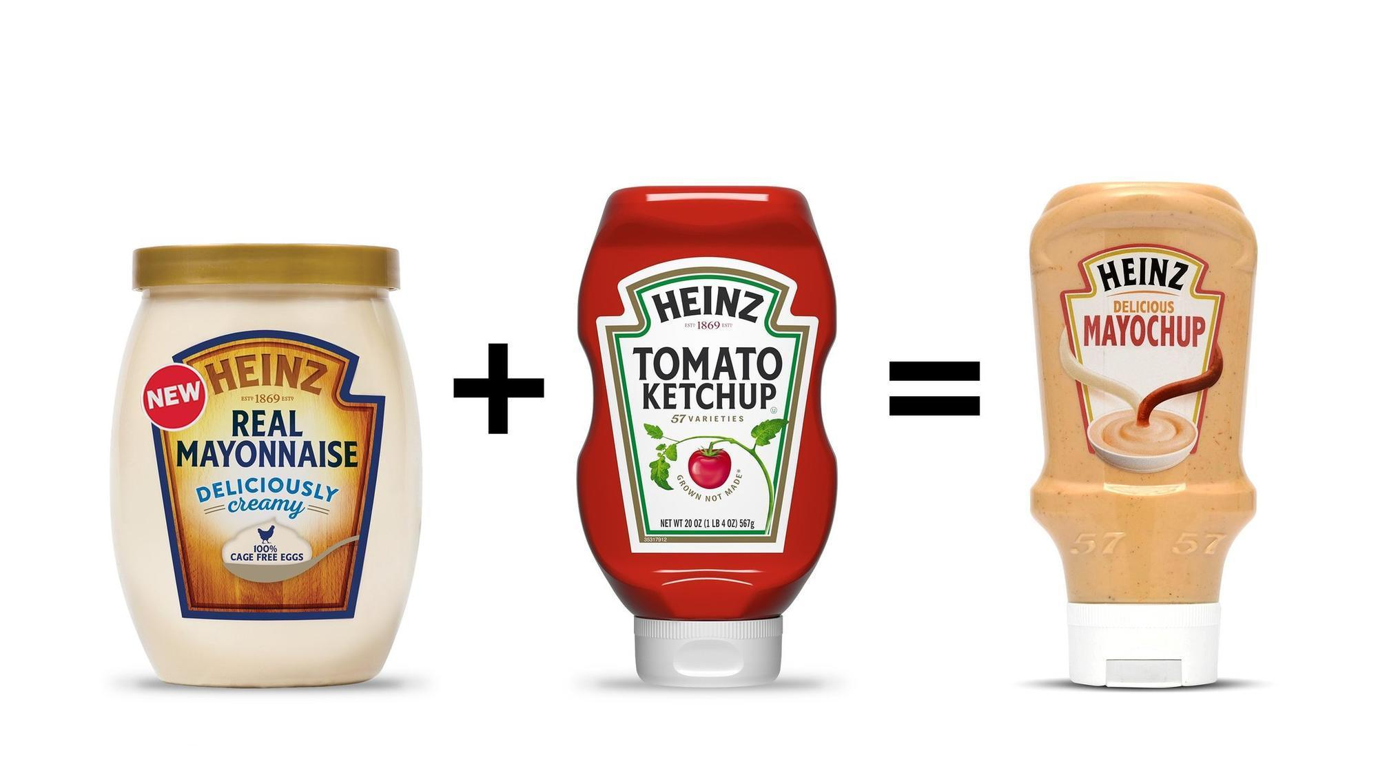 heinz teased 39 mayochup 39 a new mayo and ketchup condiment. Black Bedroom Furniture Sets. Home Design Ideas