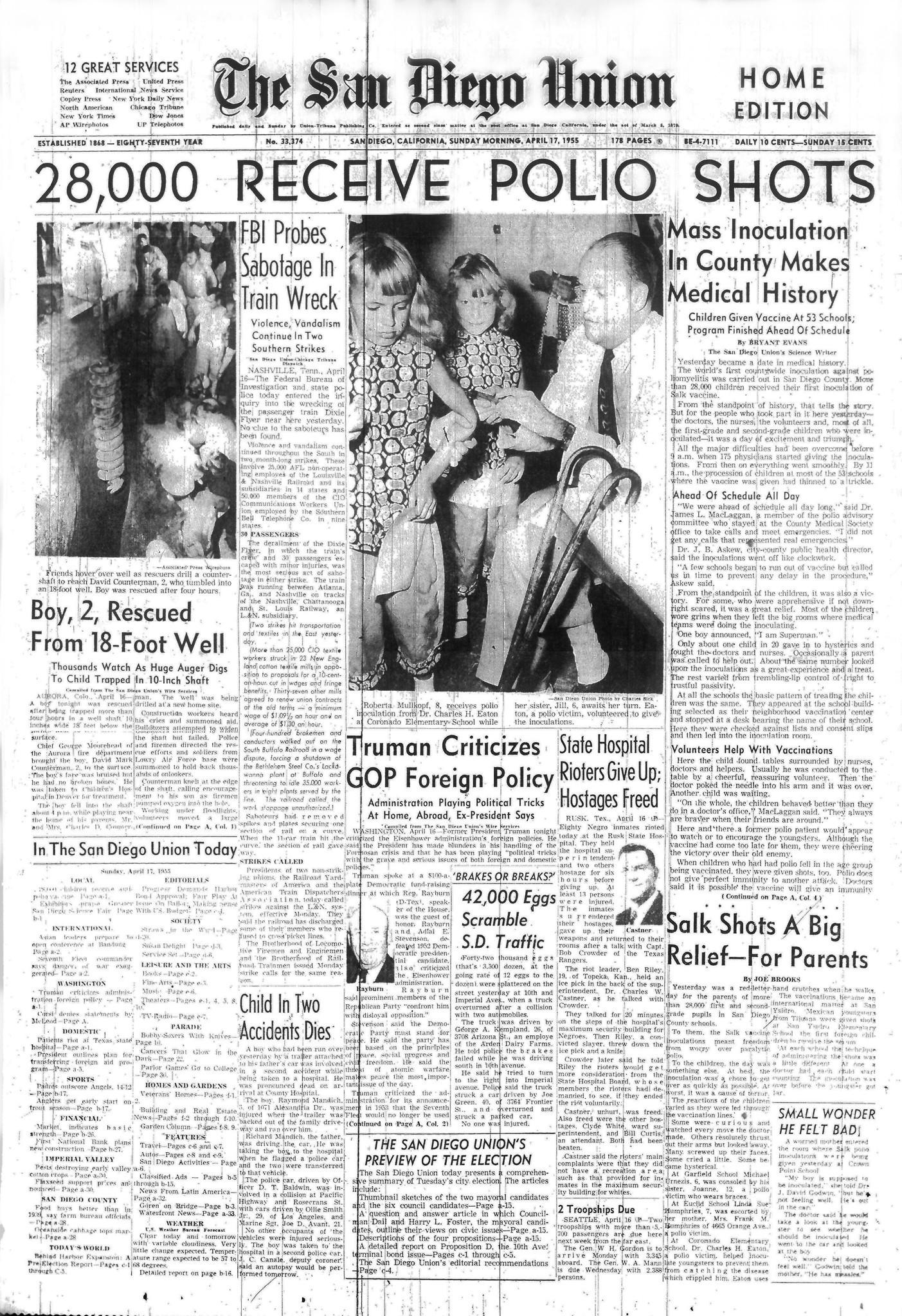 April 17, 1955