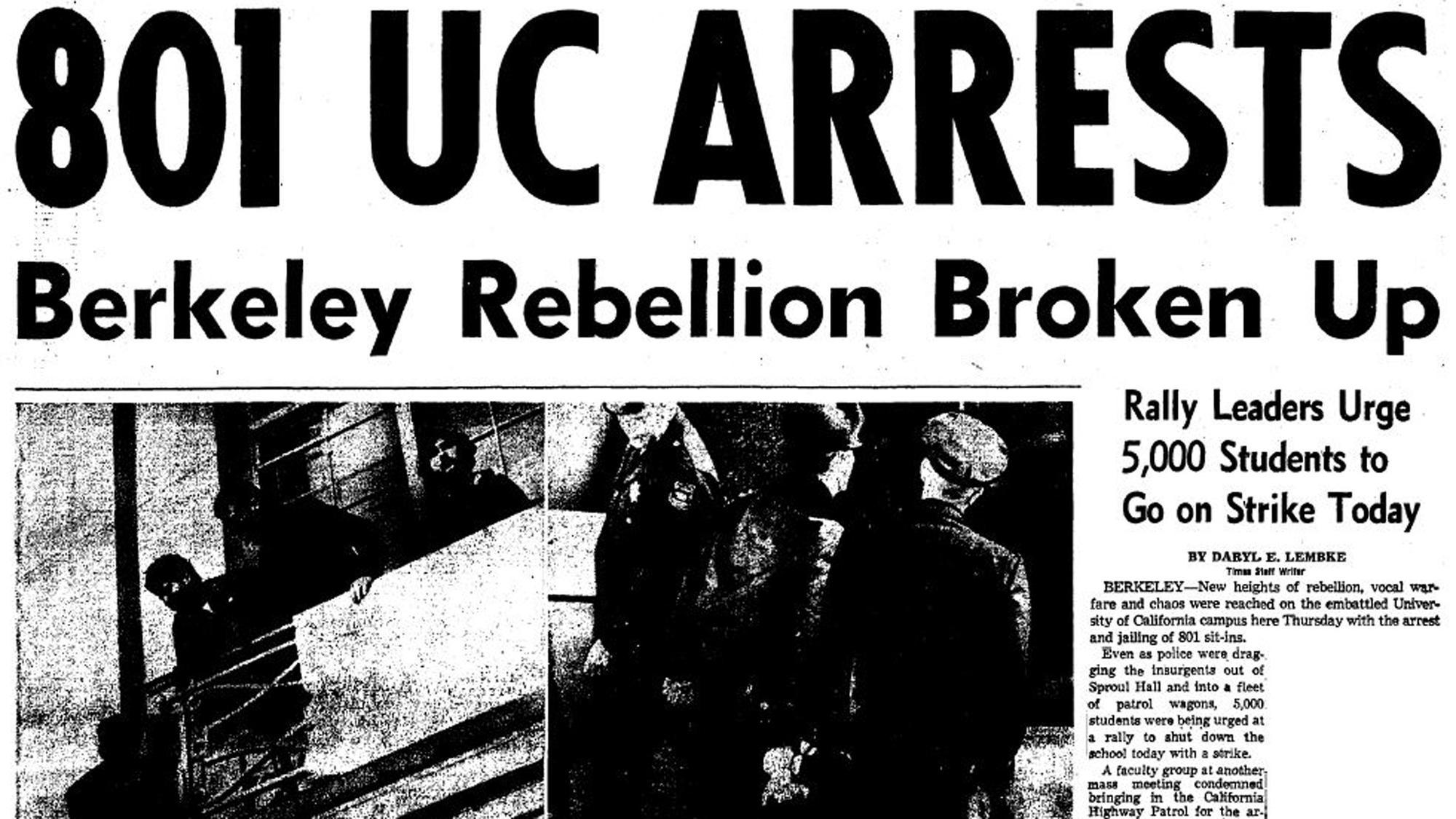 801 UC arrests