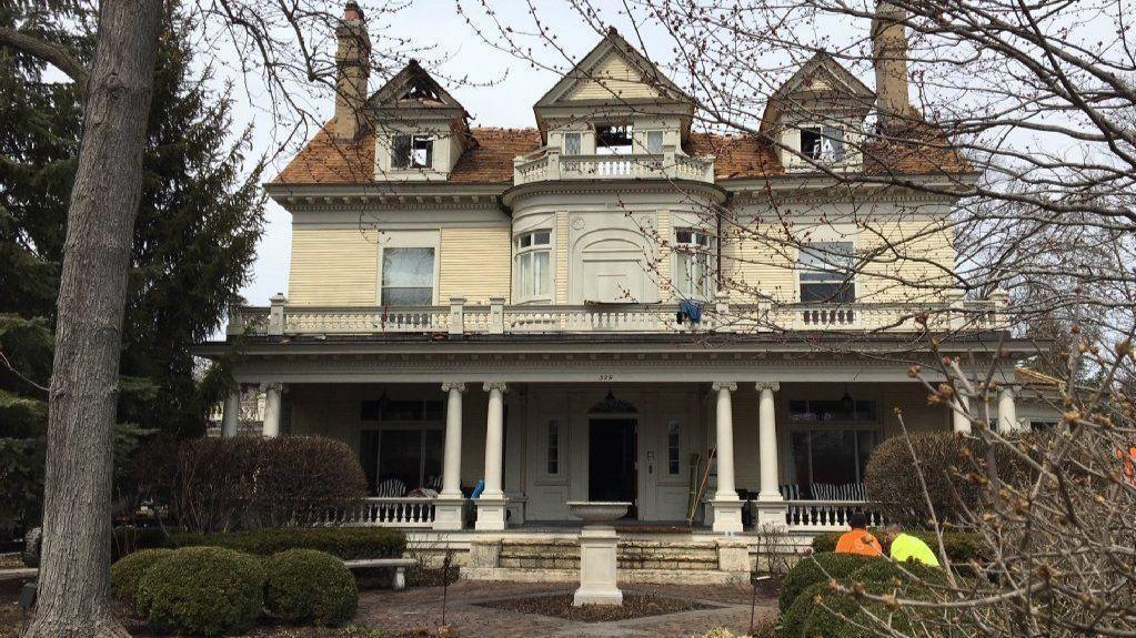 Fire That Ravaged Historic Hinsdale Home May Have Been