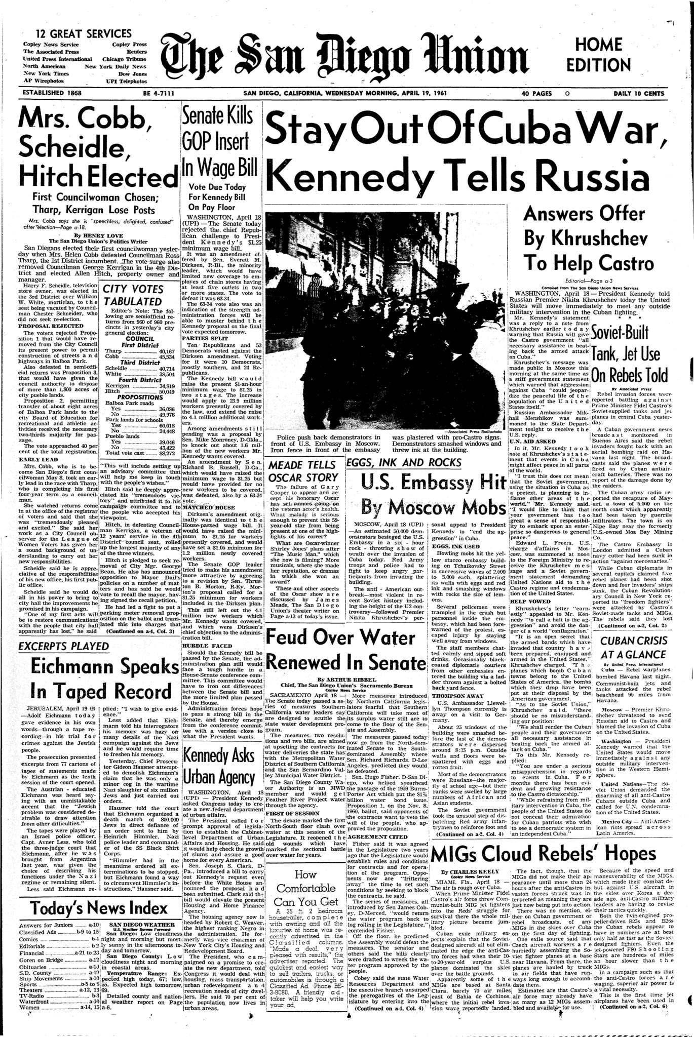 April 19, 1961