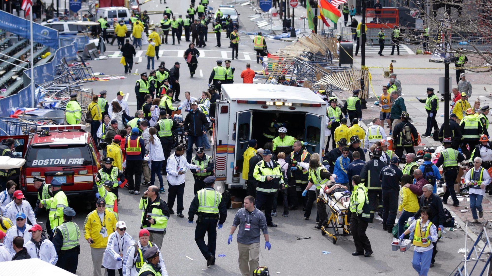 Key Moments In The 2013 Boston Marathon Bombing