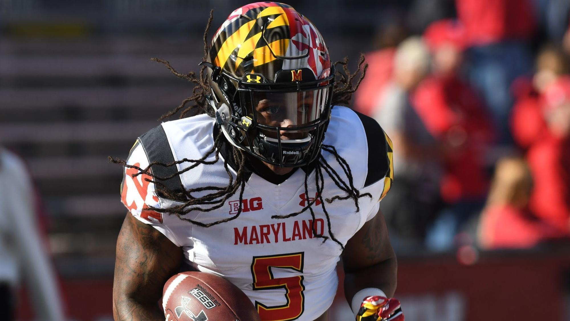 In Crowded Maryland Backfield Running Back Anthony Mcfarland Finding His Way To Play