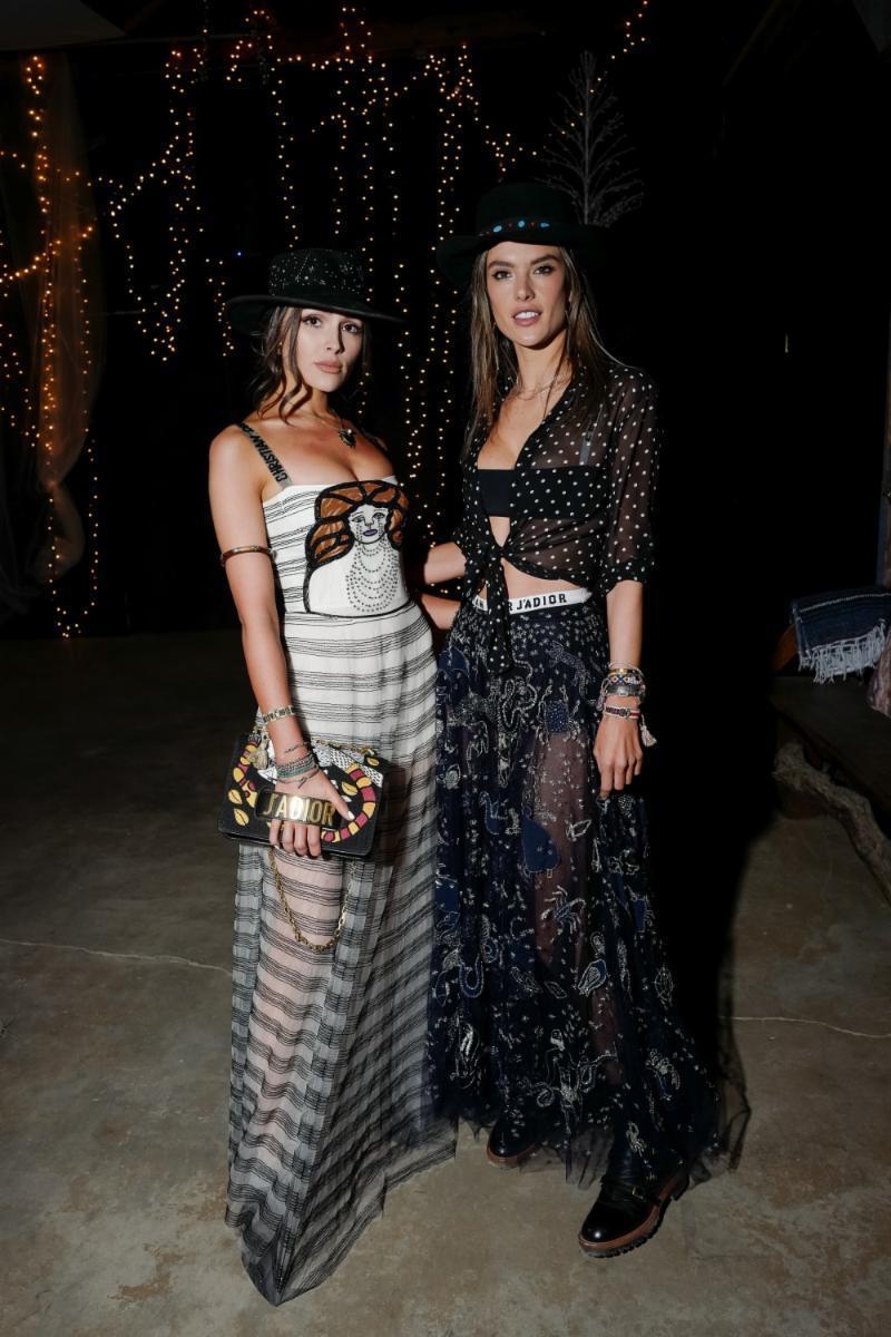 Olivia Culpo and Alessandra Ambrosio