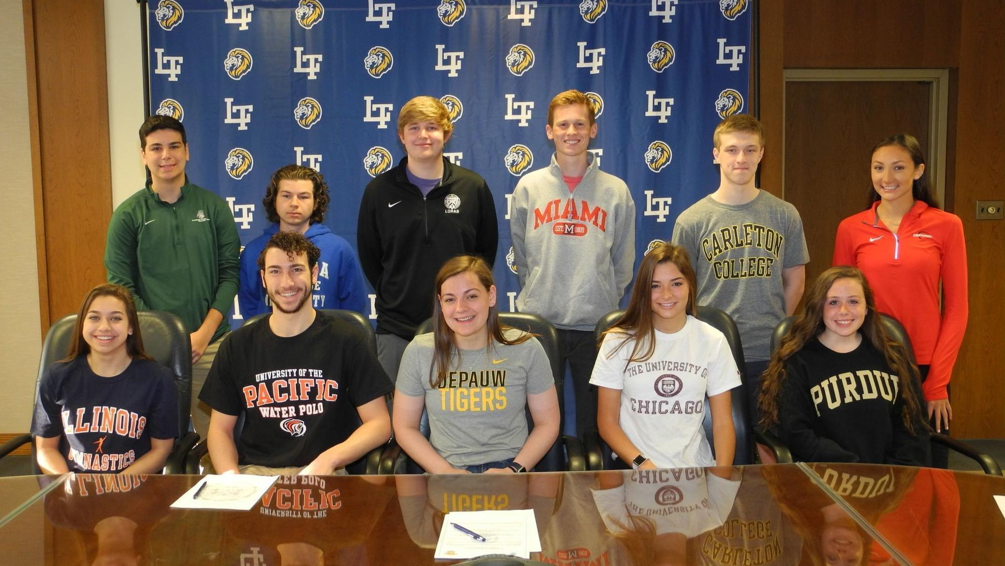 Local athletes participating in national signing day ...