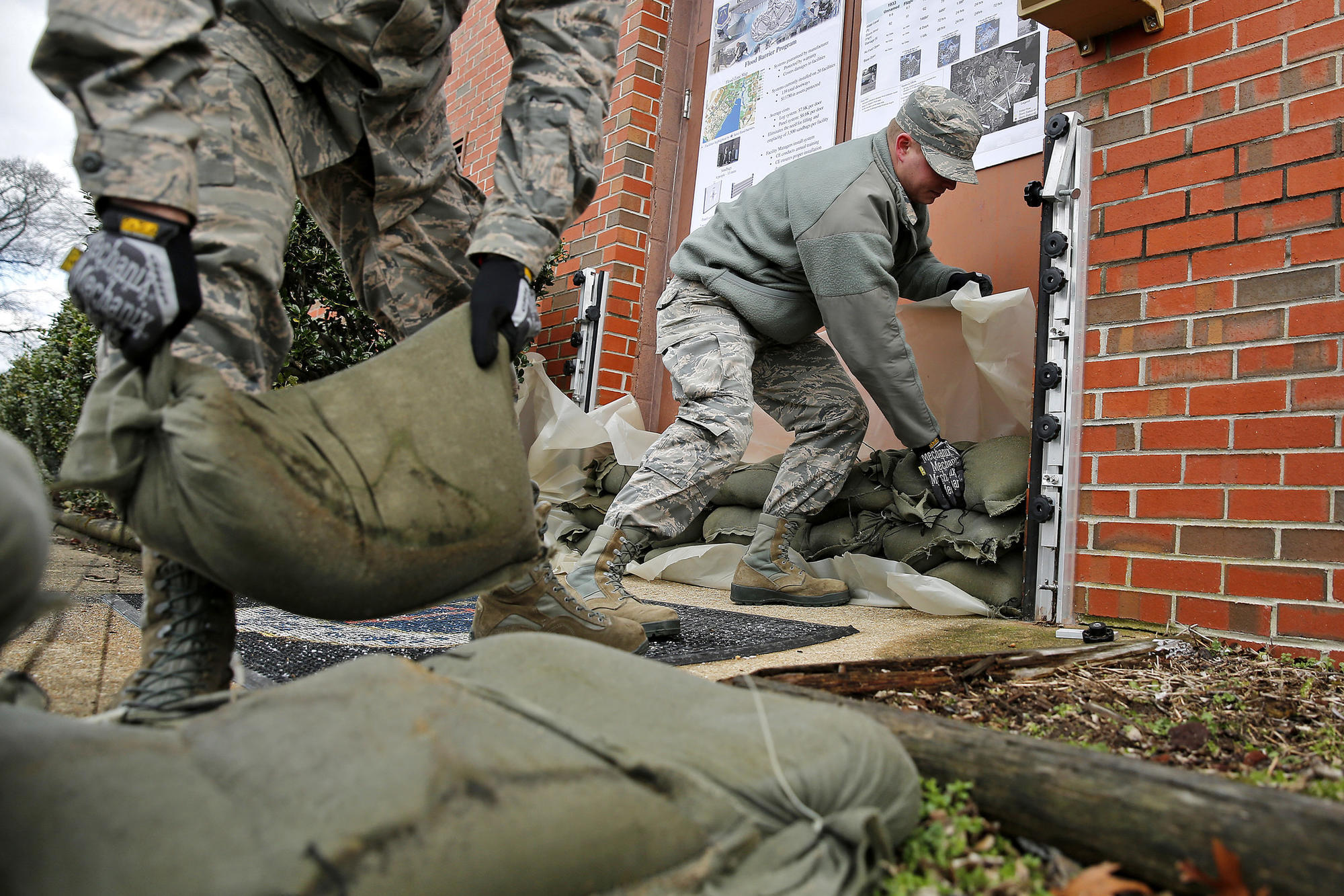 Langley Air Force Base Battles Sea Level Rise Daily Press