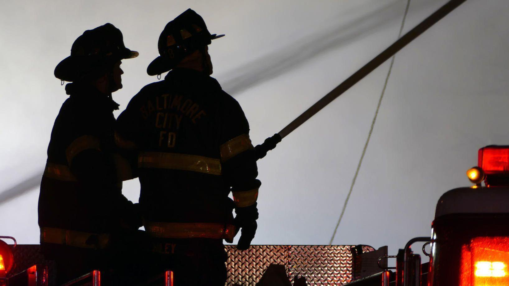City firefighters past and present honored at Memorial
