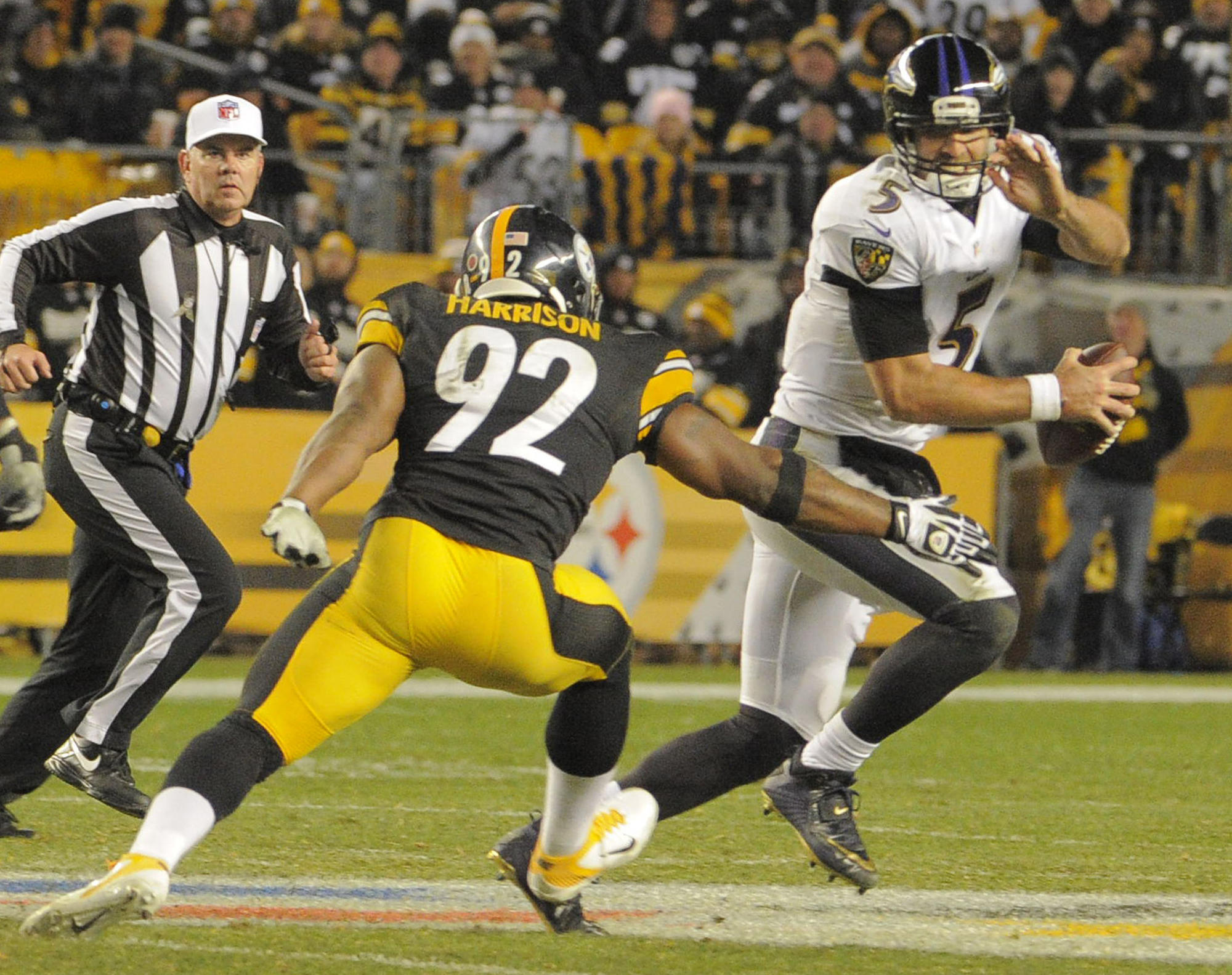 da906c55e Linebacker James Harrison, who was briefly with the Ravens then tormented  them as a Steeler, announces retirement - Baltimore Sun