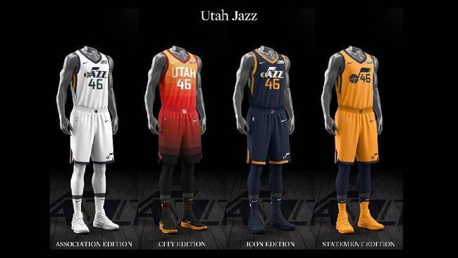 37310e912 Ranking the NBA s new Nike-designed uniforms - Chicago Tribune