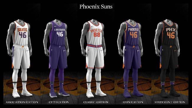57a72cc71 Ranking the NBA s new Nike-designed uniforms - Chicago Tribune