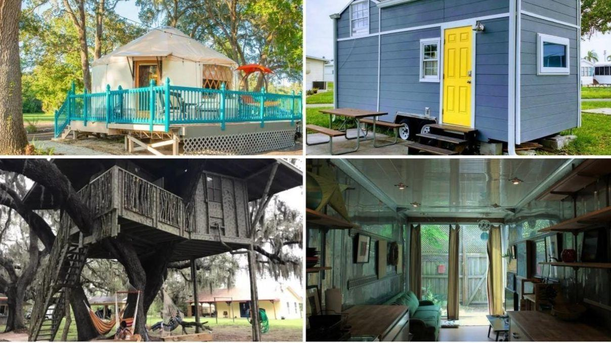 Unique Vacation Rentals In Florida Include Tree Houses Hangars
