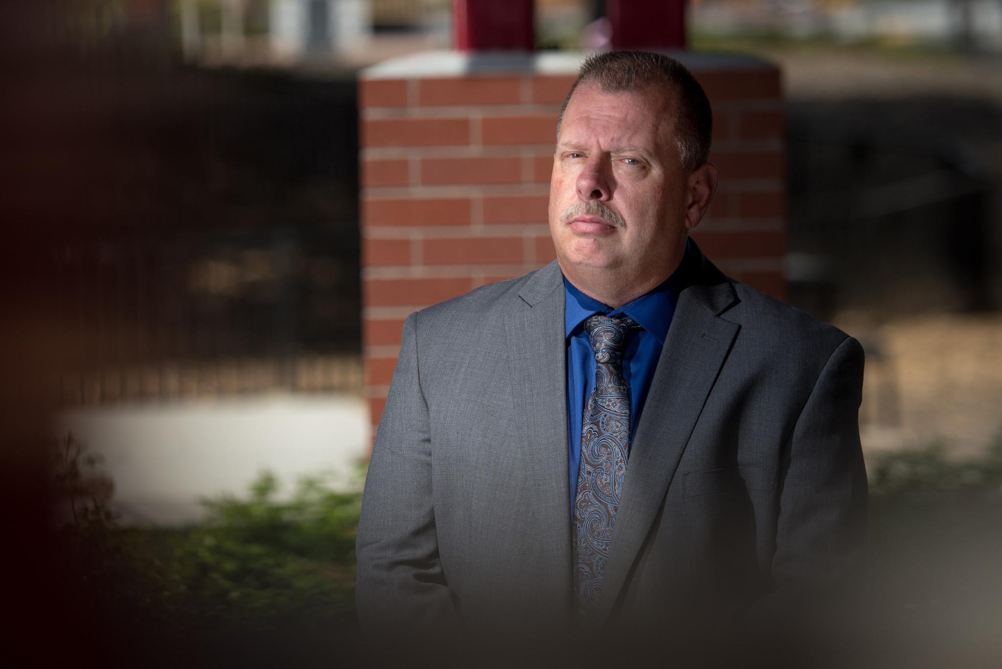 Former Pittsburg Police Lt. Wade Derby