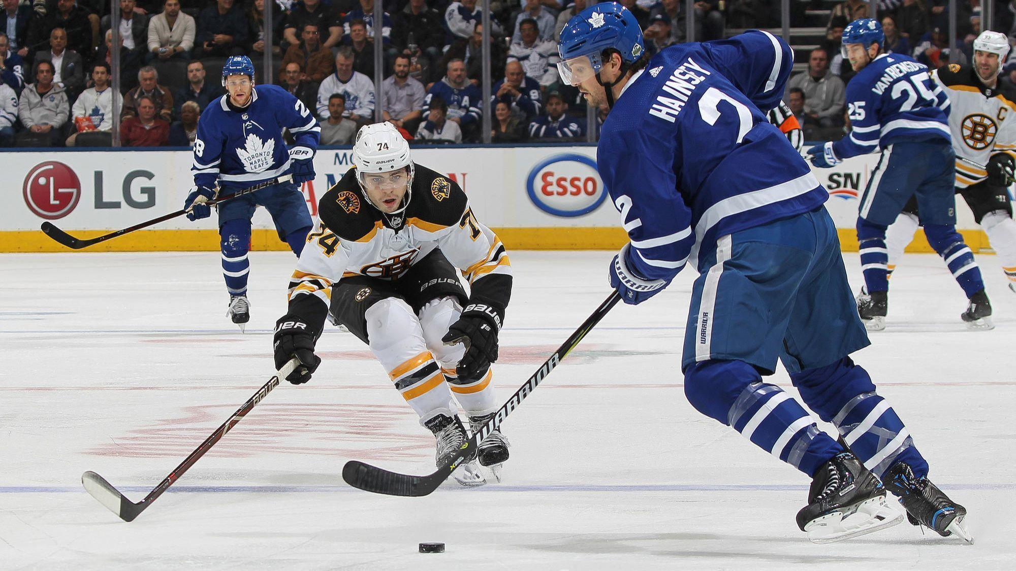 NHL playoffs  Bruins beat Maple Leafs 3-1 in Game 4 - Sun Sentinel 0fb0ba0f5