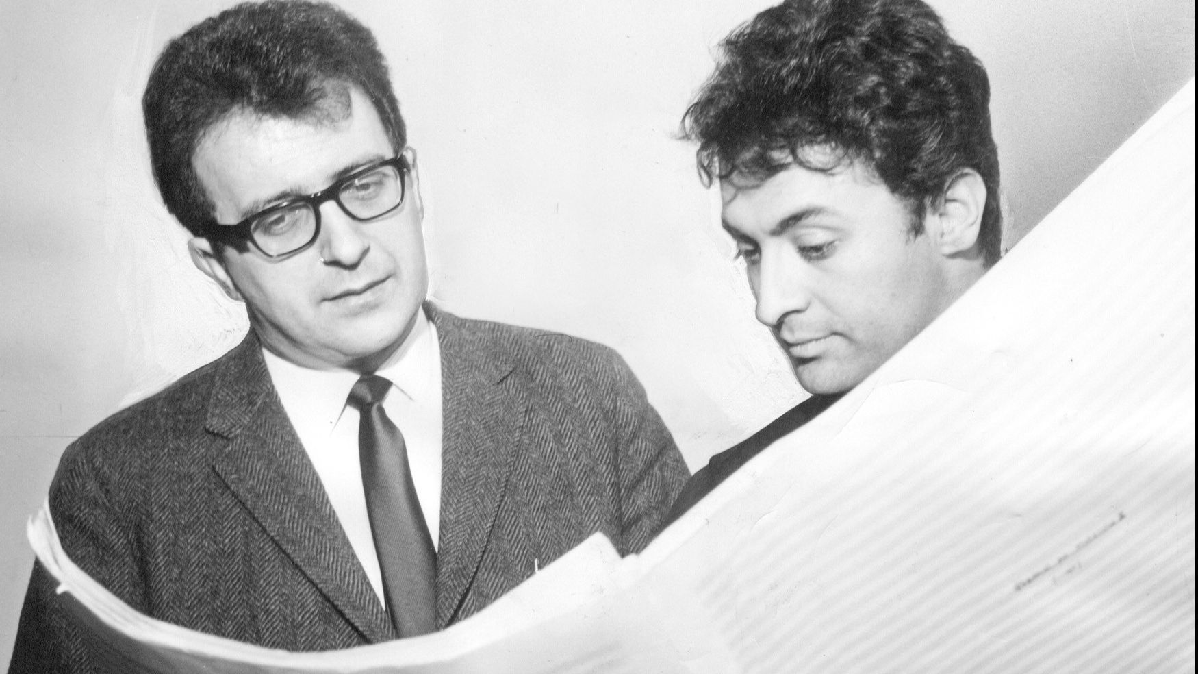 Luciano Berio and Zubin Mehta