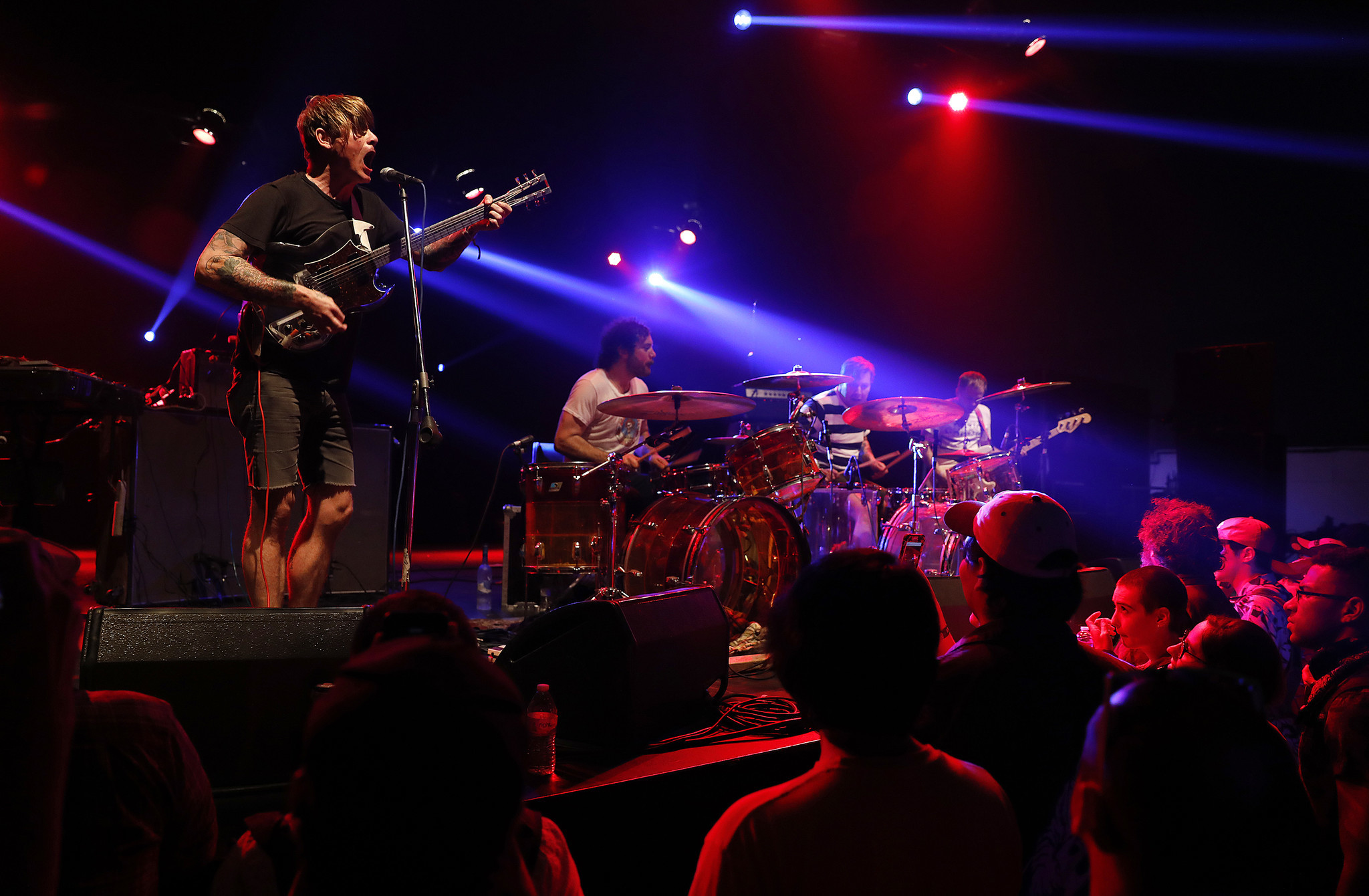 INDIO-CA-APRIL 21, 2018: Oh Sees perform at Coachella Weekend 2 on Saturday, April 21, 2018. (Christ