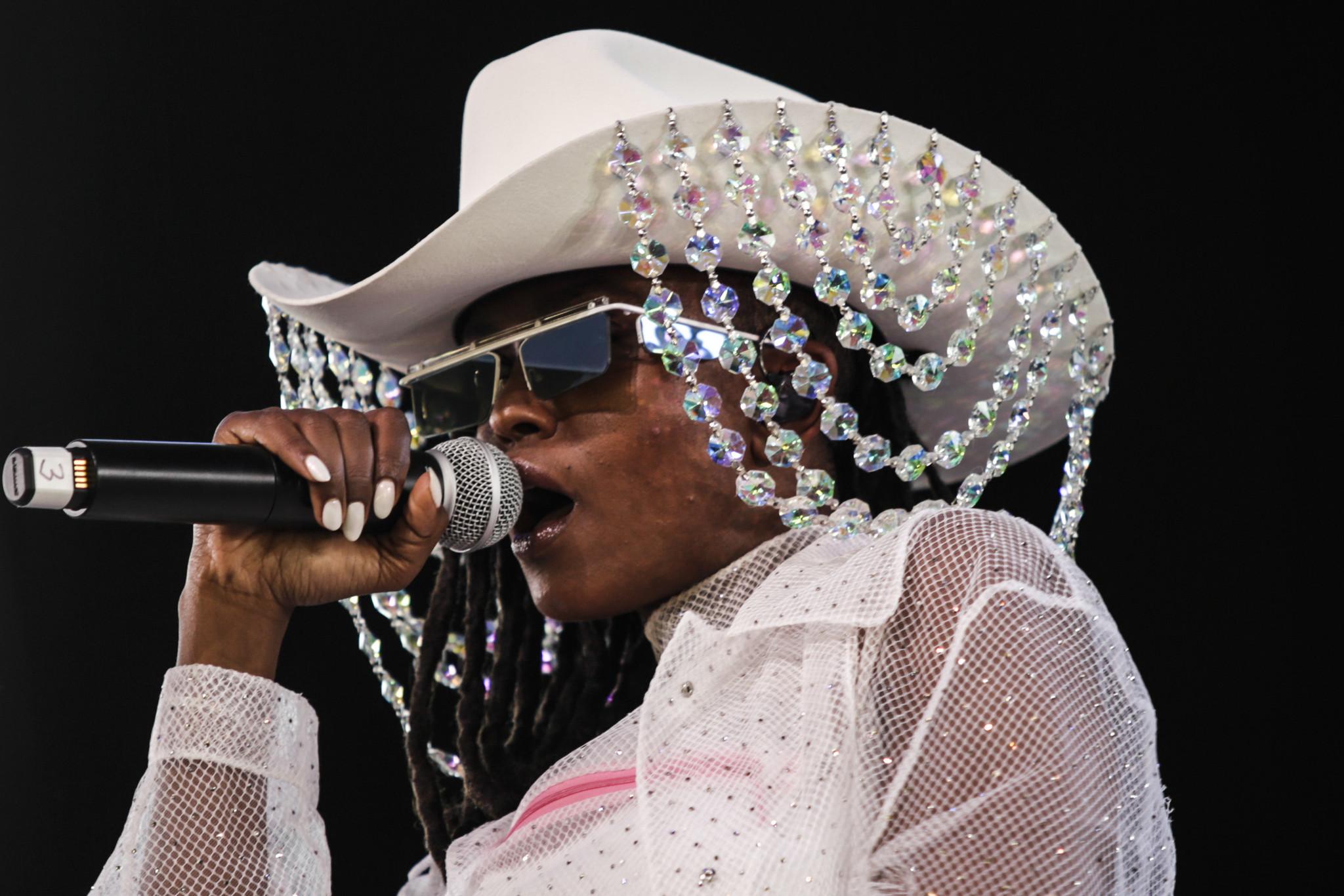 INDIO,CA — FRIDAY, APRIL 20, 2018-- Kelela performs at Coachella week two. (Maria Alejandra Cardona