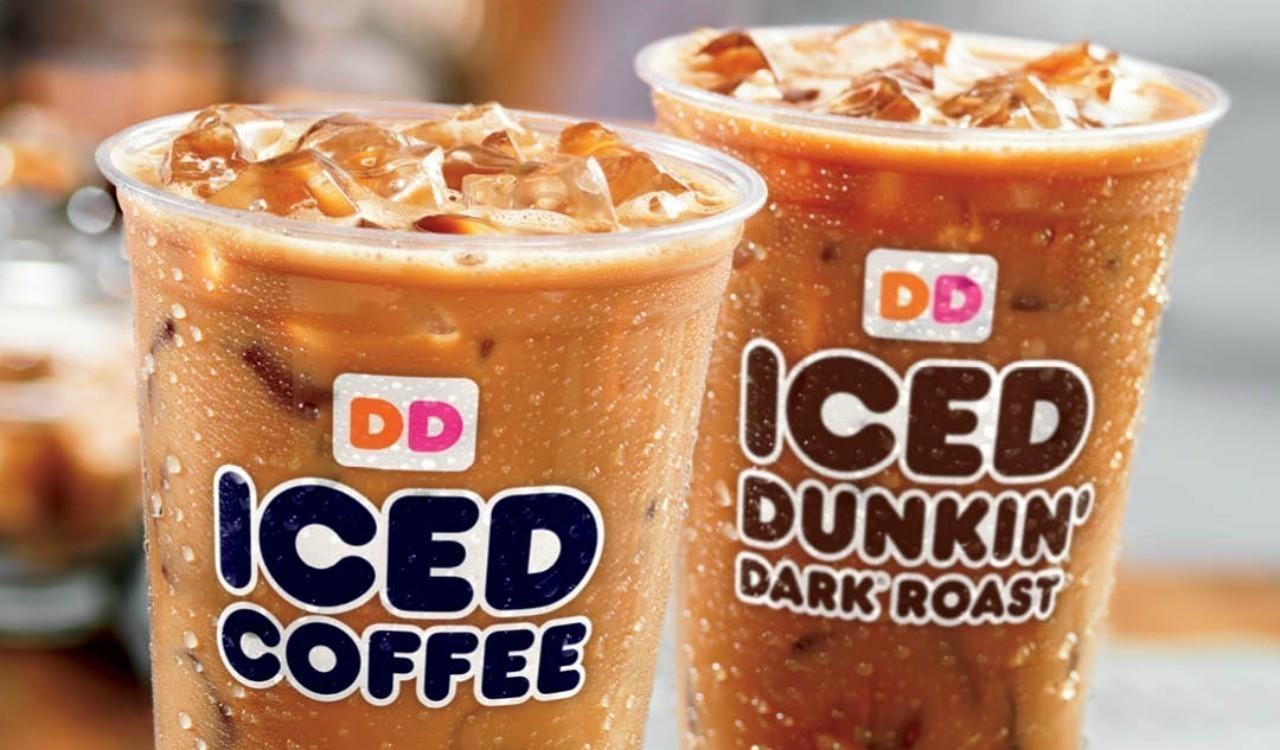 1 Iced Coffee At Dunkin Donuts On Mondays Sun Sentinel