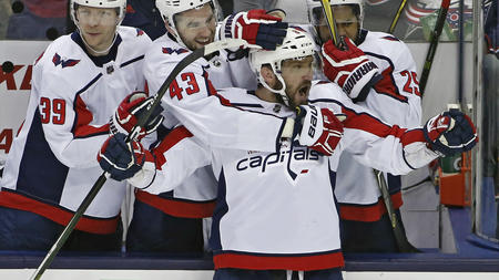 d8058bf4c0e Capitals advance with 6-3 win over Blue Jackets in Game 6