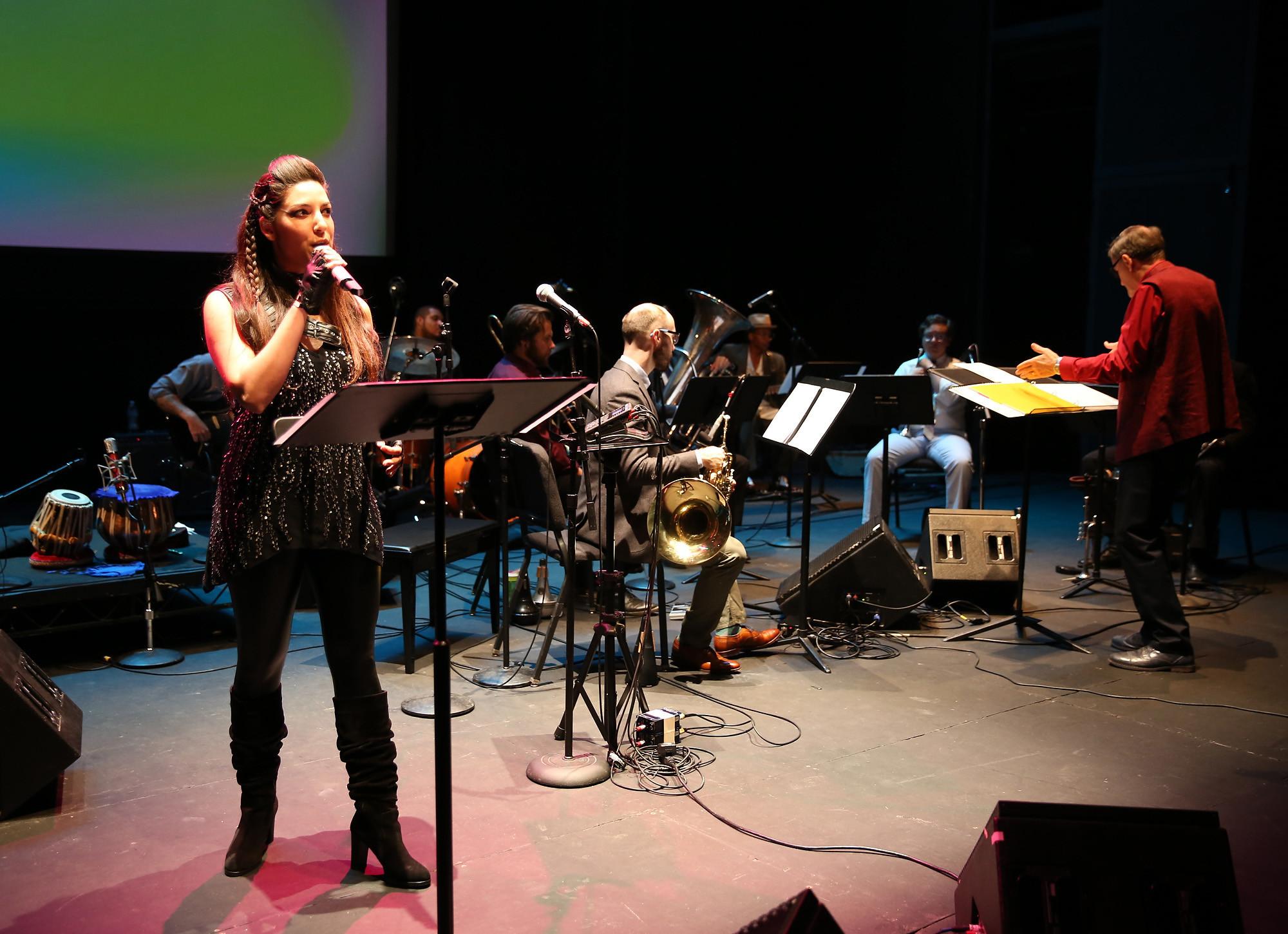 The multimedia concert