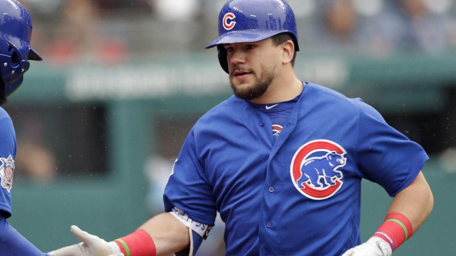 By utilizing whole field, Kyle Schwarber putting 2017 ...