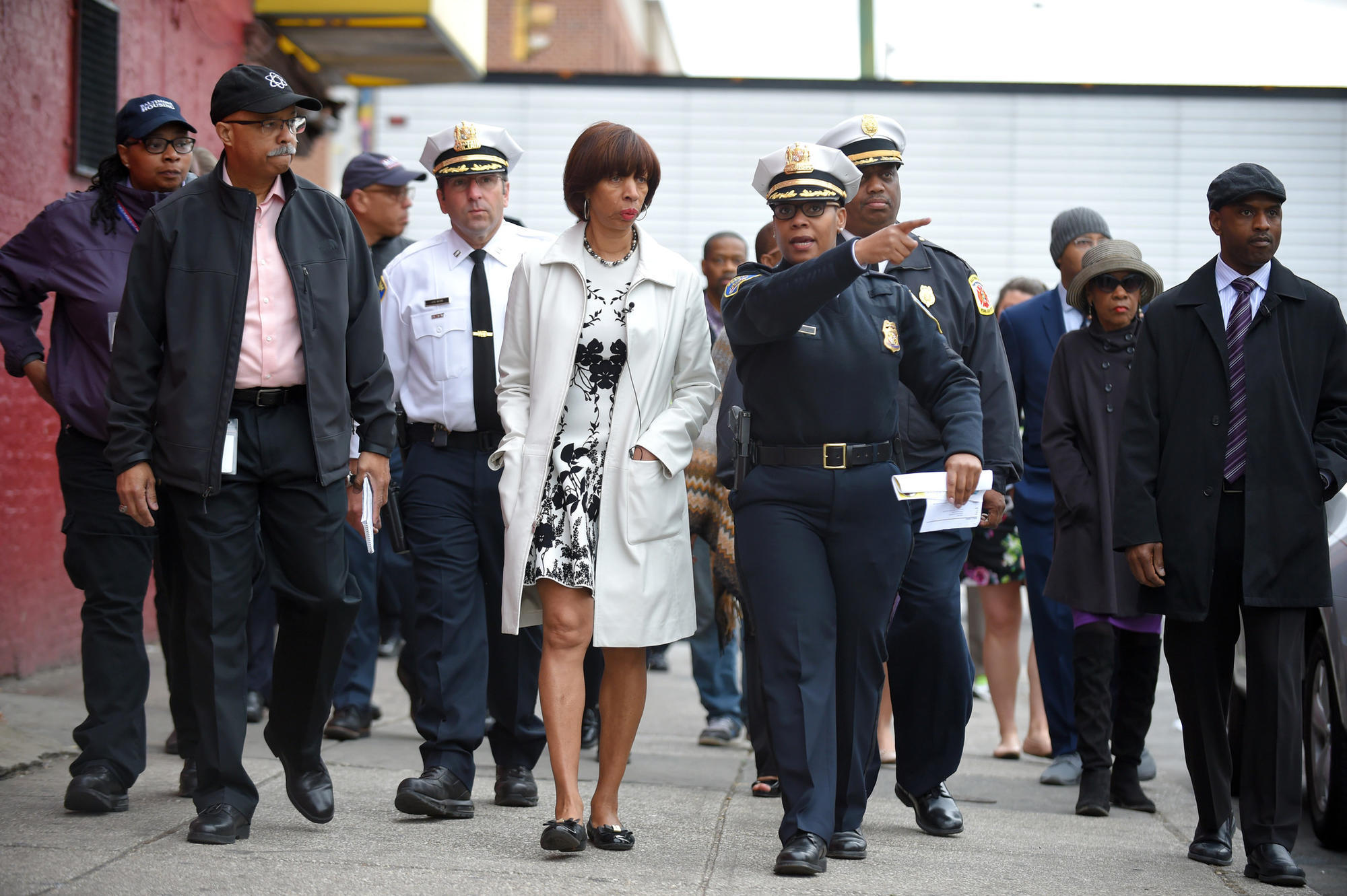As Violence Spikes Mayor Catherine Pugh Hits The Streets