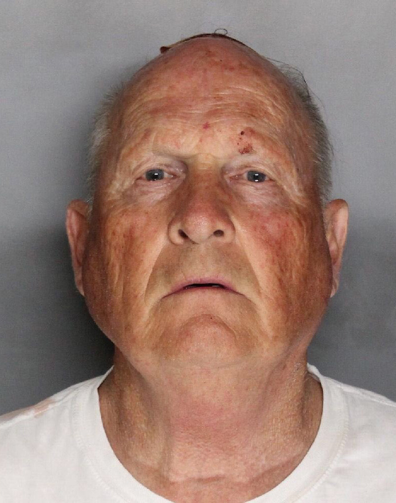 Suspect Joseph James DeAngelo Jr., 72