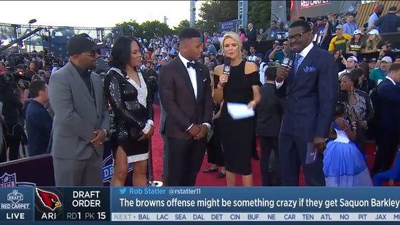 Watch Saquon Barkley On Having Daughter Born During Draft