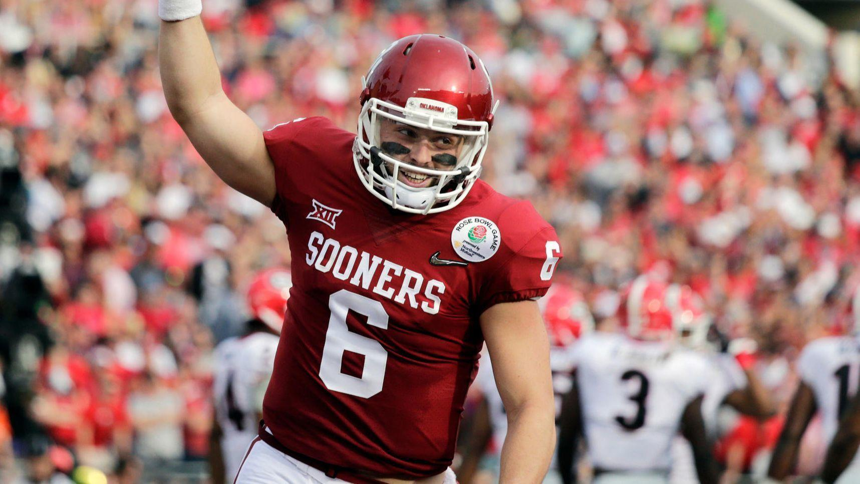 browns select oklahoma s baker mayfield with first pick in the nfl