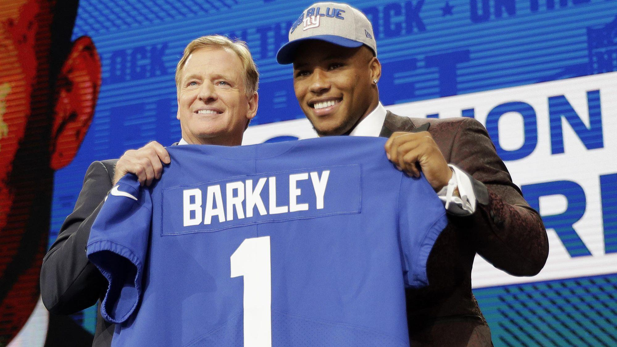 Saquon Barkley drafted by New York Giants   He s going to be great for our  culture  - The Morning Call 8c1fc0e39