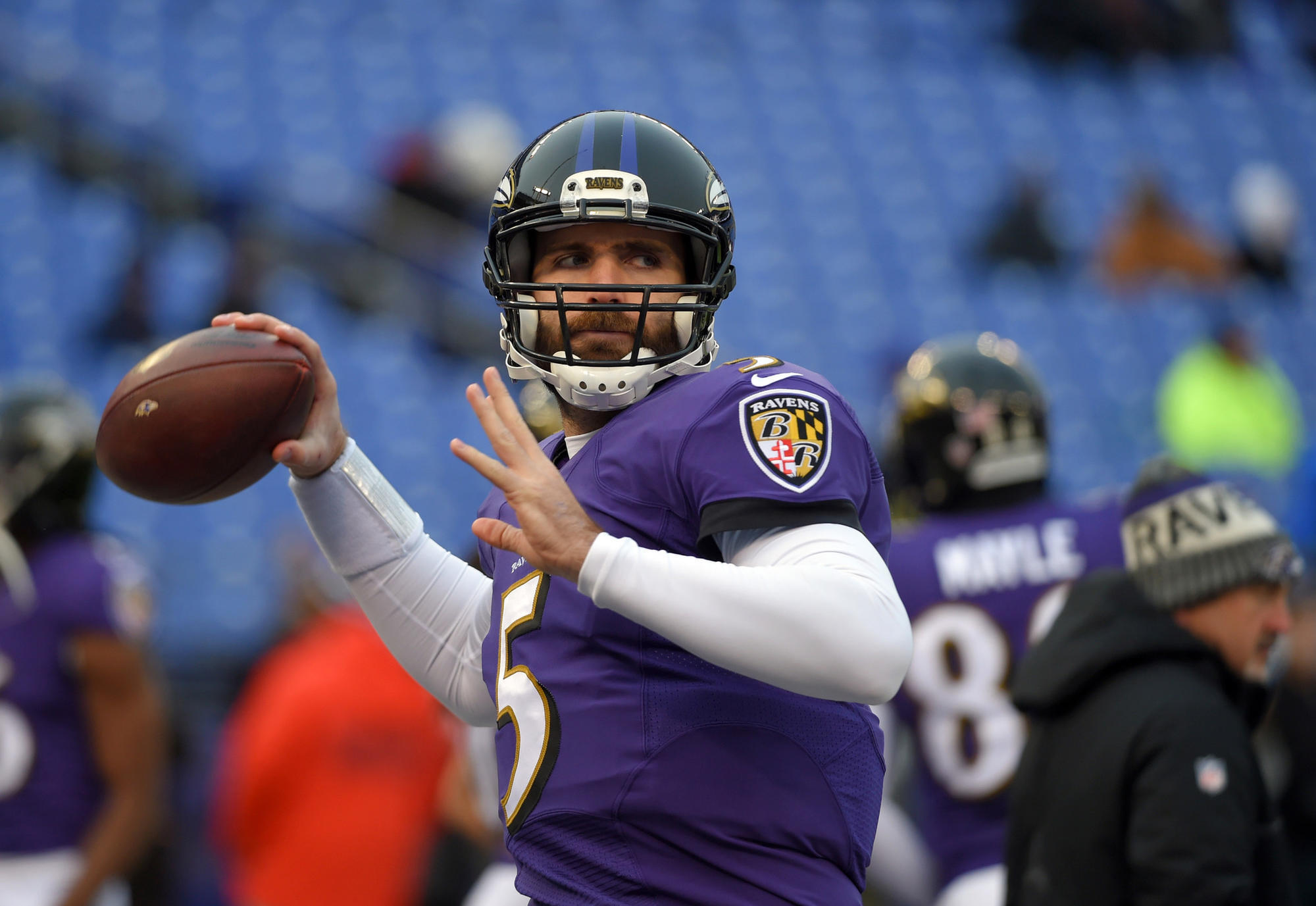 What drafting Lamar Jackson means for Ravens starting QB Joe Flacco - Baltimore  Sun 6977b7dc2
