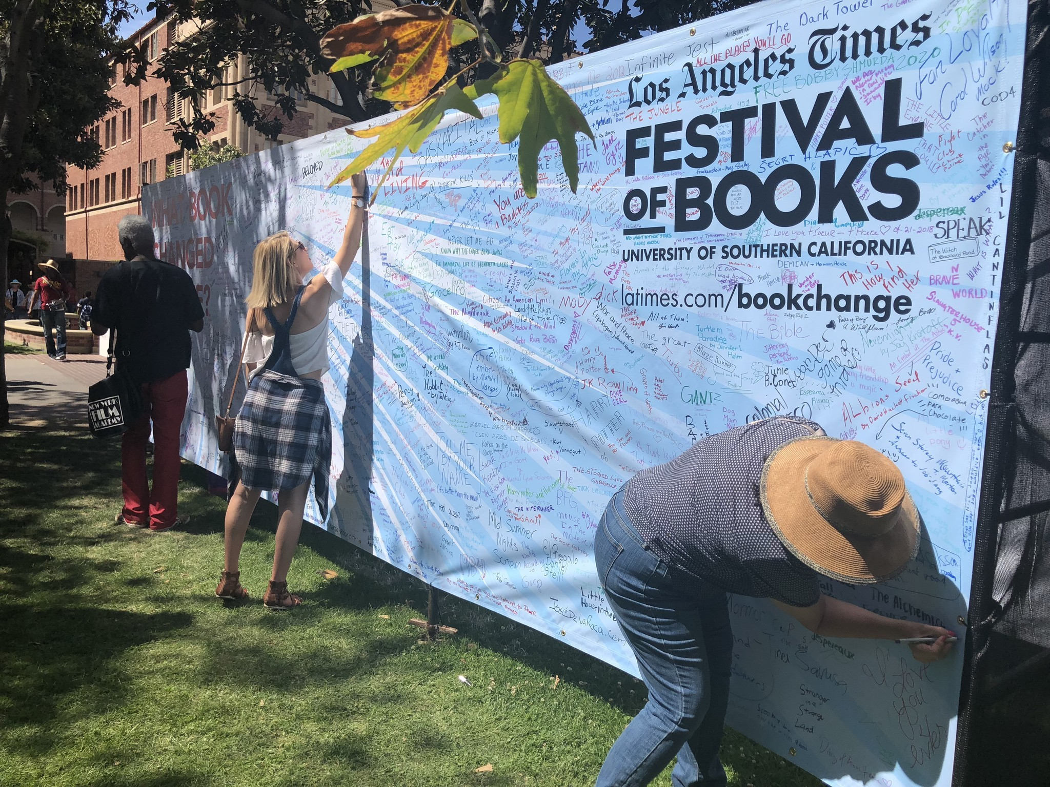 Festival Of Books 2020.What Book Changed Your Life Los Angeles Times