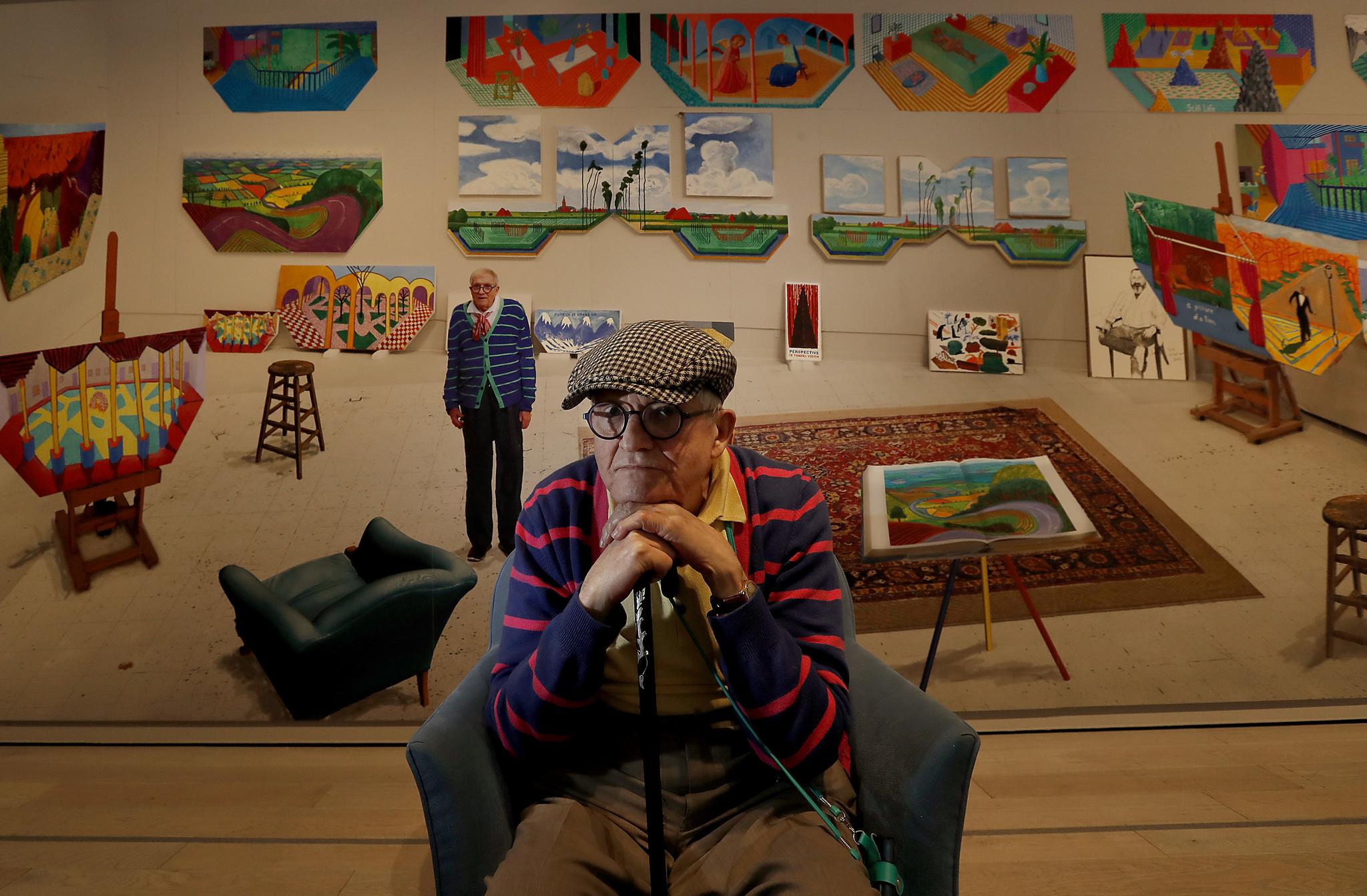 David Hockney at LACMA