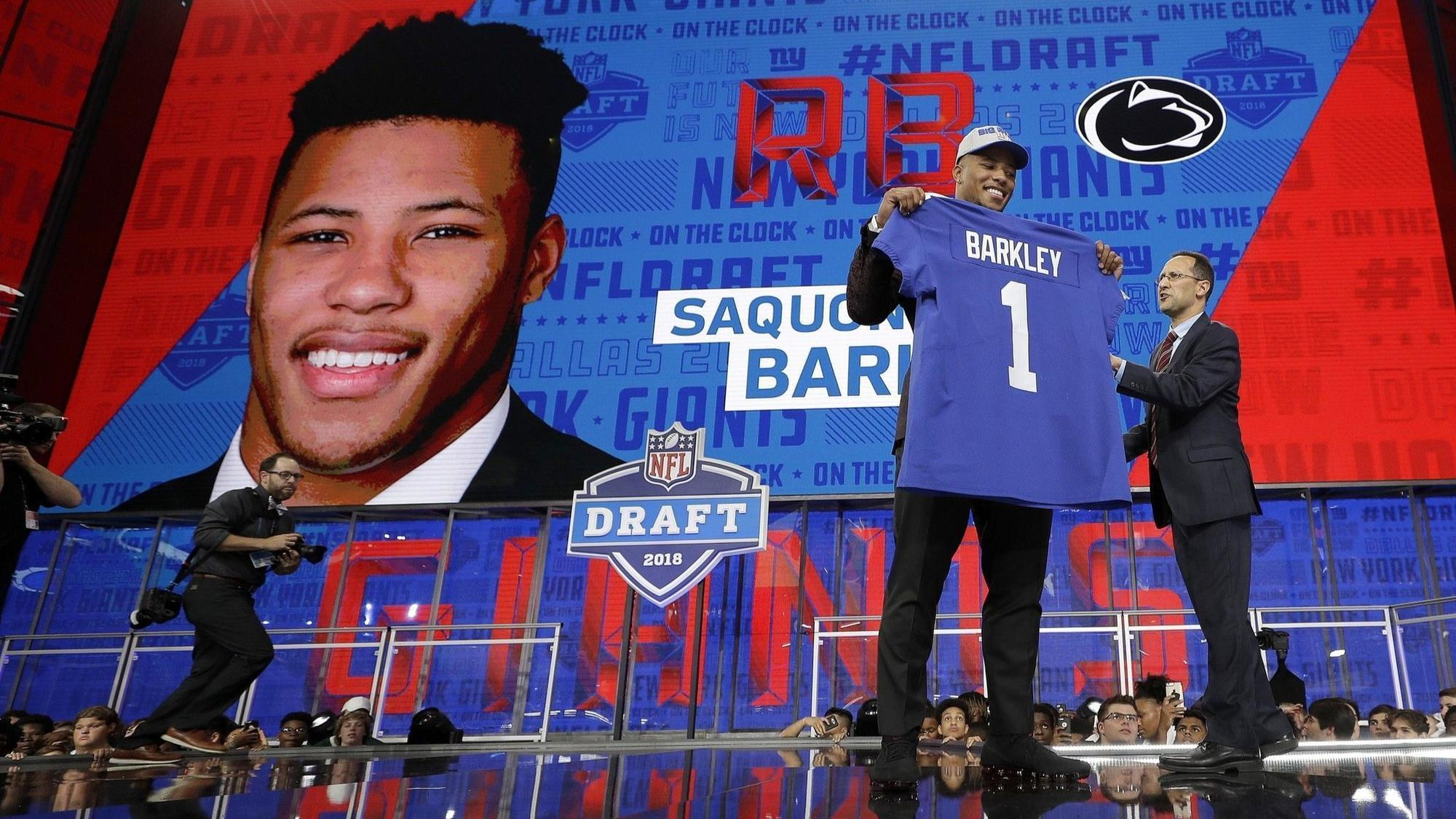 What s next for Saquon Barkley  Handling the expectations of New York 2a325ac05
