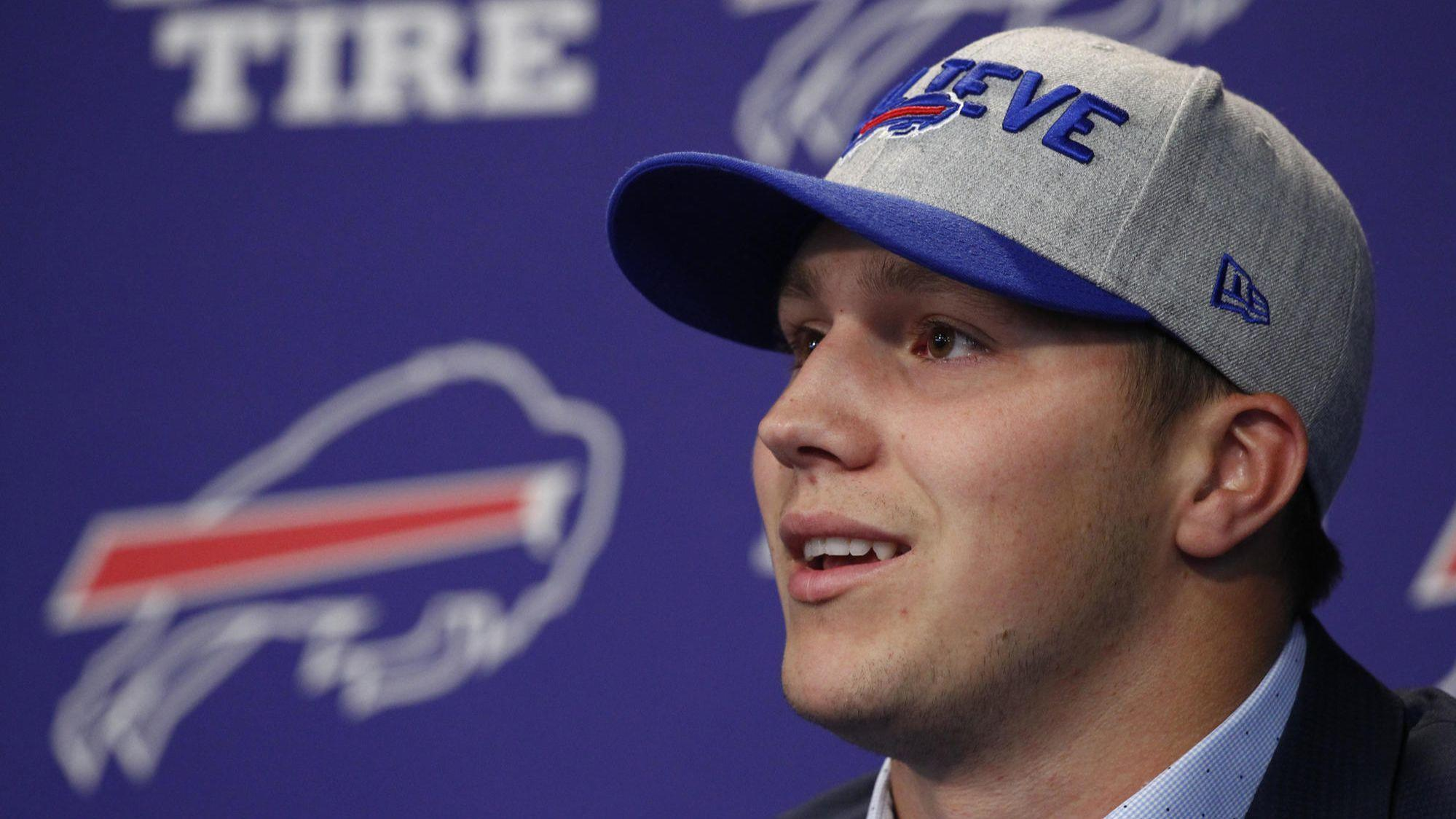 Ct Pick 3 >> QB Josh Allen eager to clear the air with Bills teammates ...