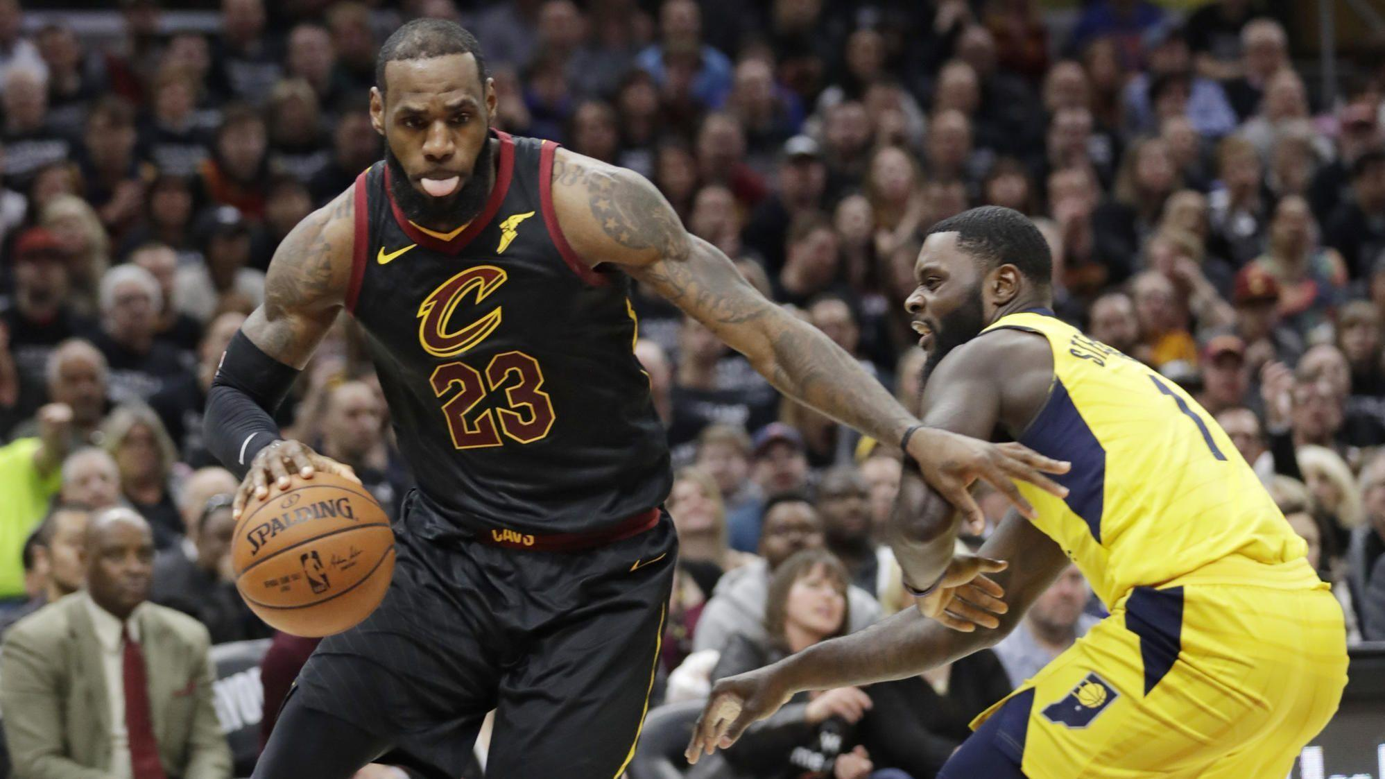 072d0fd456d3 LeBron James carries Cavaliers past Pacers in Game 7 - Chicago Tribune