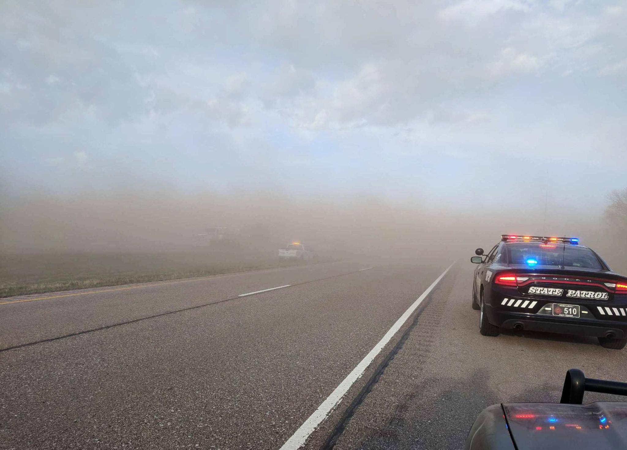 Nebraska Dust Storm Triggers 29 Vehicle Crash Killing 1