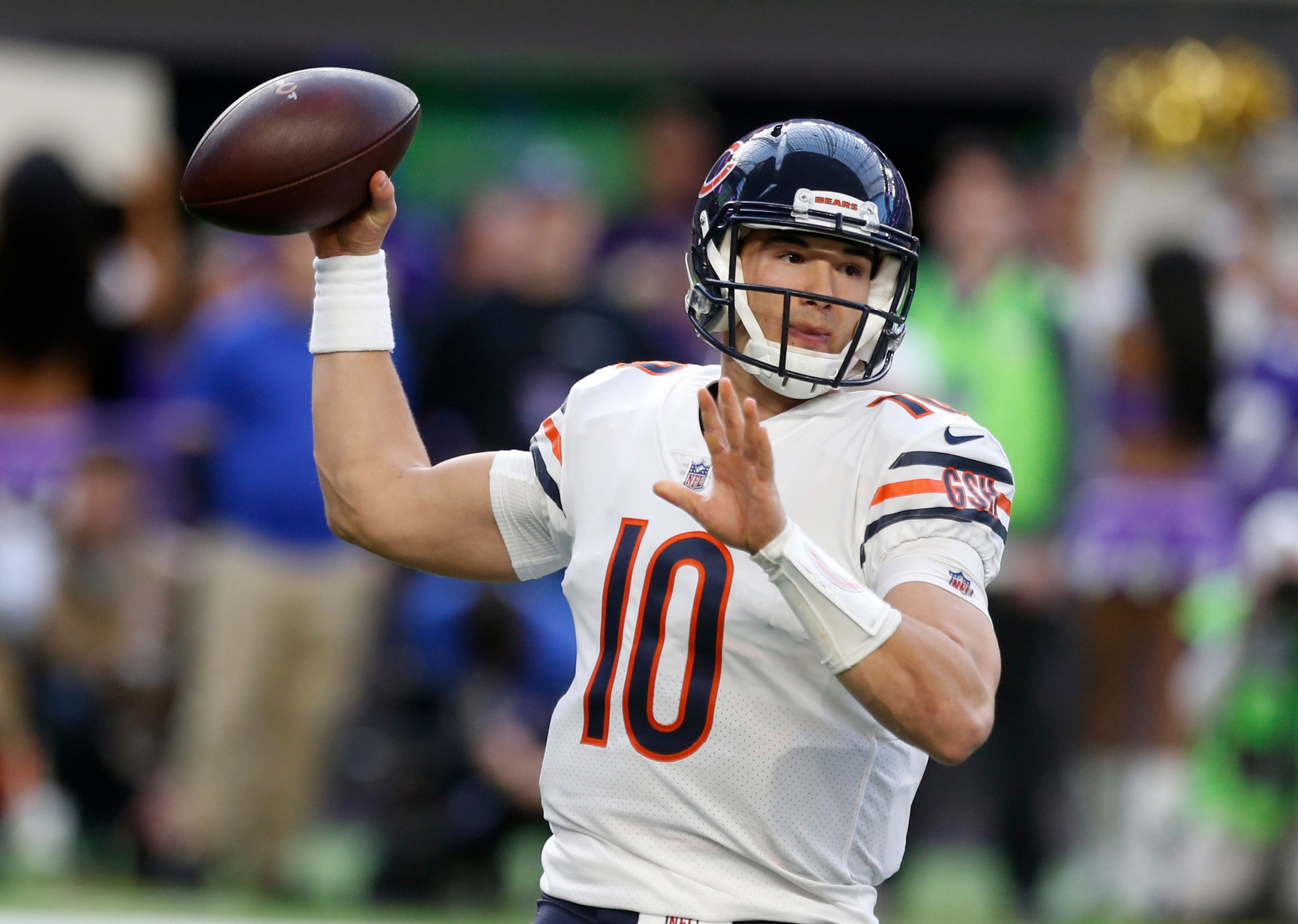 Bears Q A How Does Offense Stack Up To 17 Chiefs What Position Battles Loom On Offensive Line Chicago Tribune