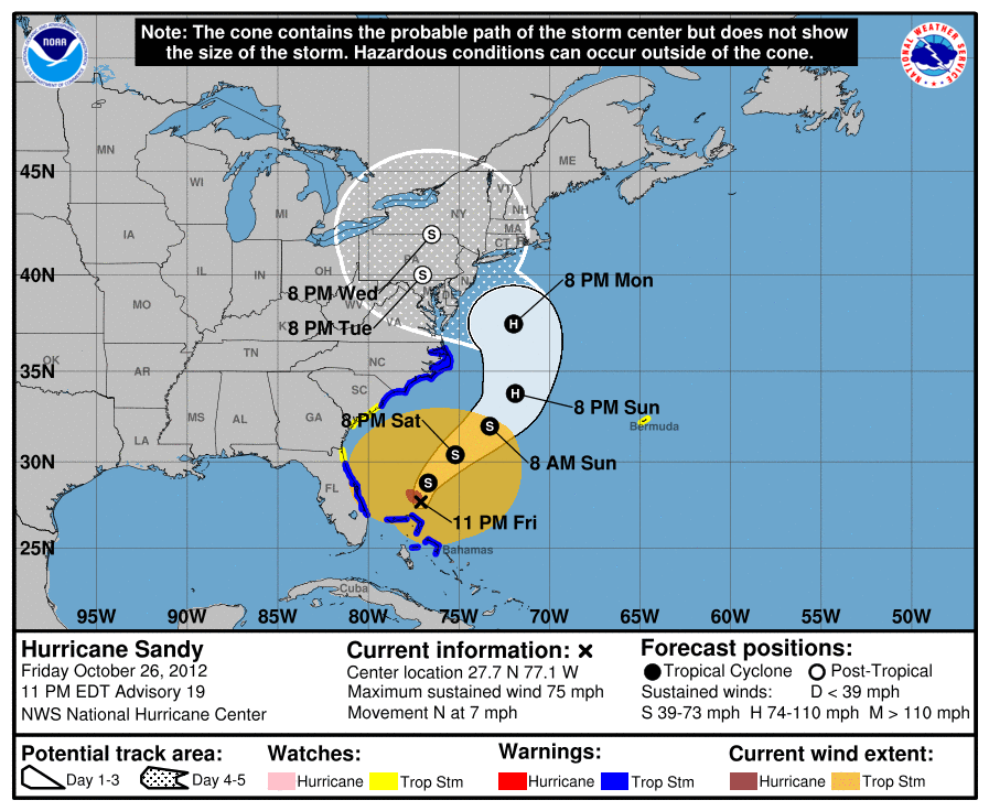 How To Read The Hurricane Center S Maps And Graphics Sun Sentinel