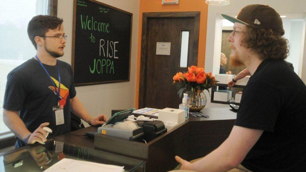 Rise Dispensary in Joppa opens to patients Friday - The Aegis