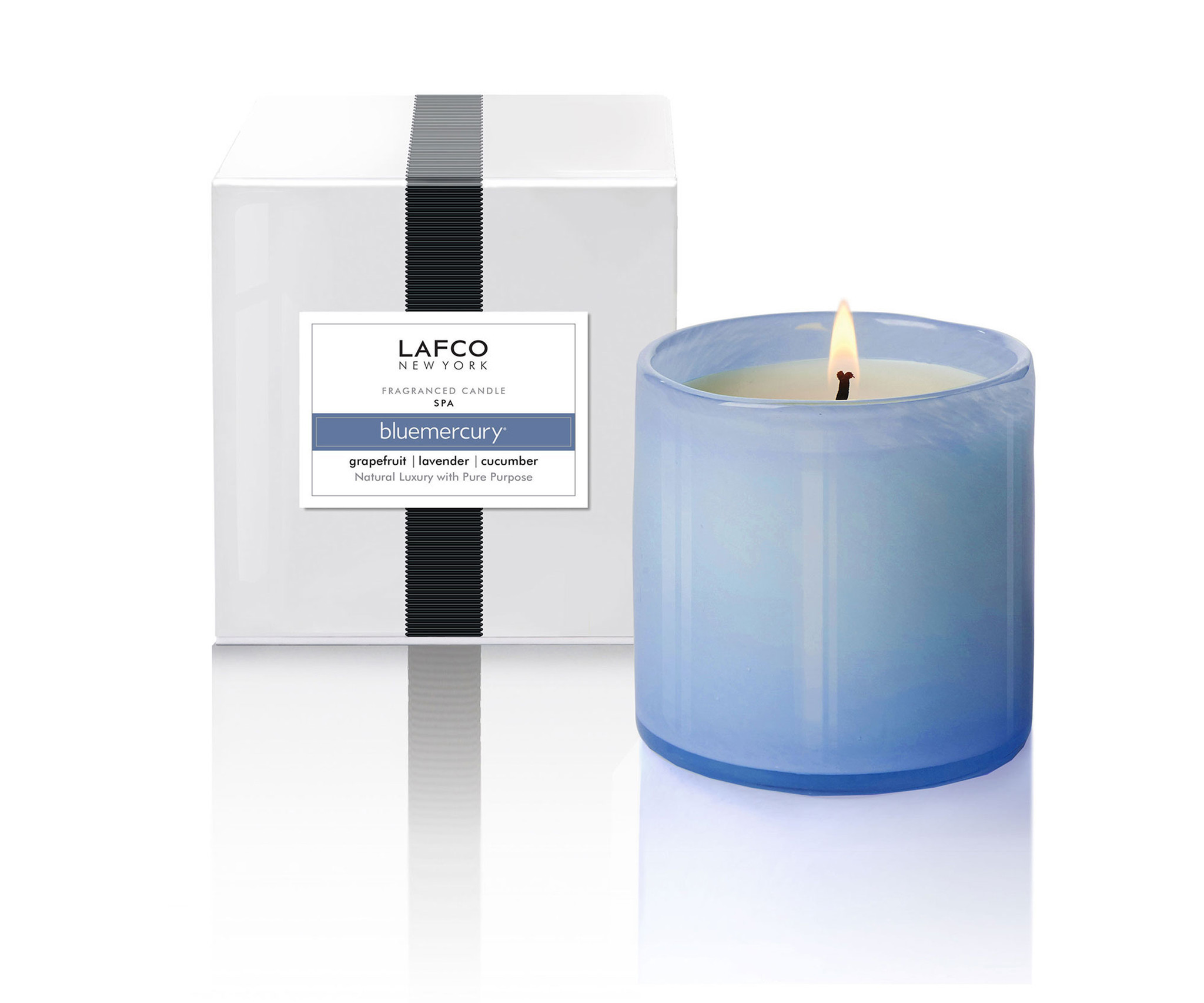Bluemercury X LAFCO's hand-poured candle.